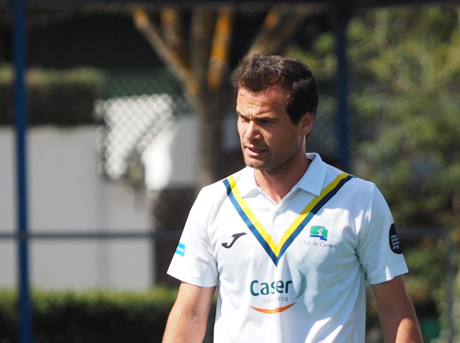 El jugador del Club Álvaro Iglesias.