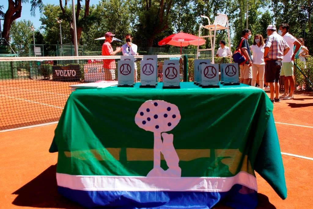 Trofeos del Campeonato Infantil de Madrid Memorial Manuel Alonso. Foto: FTM