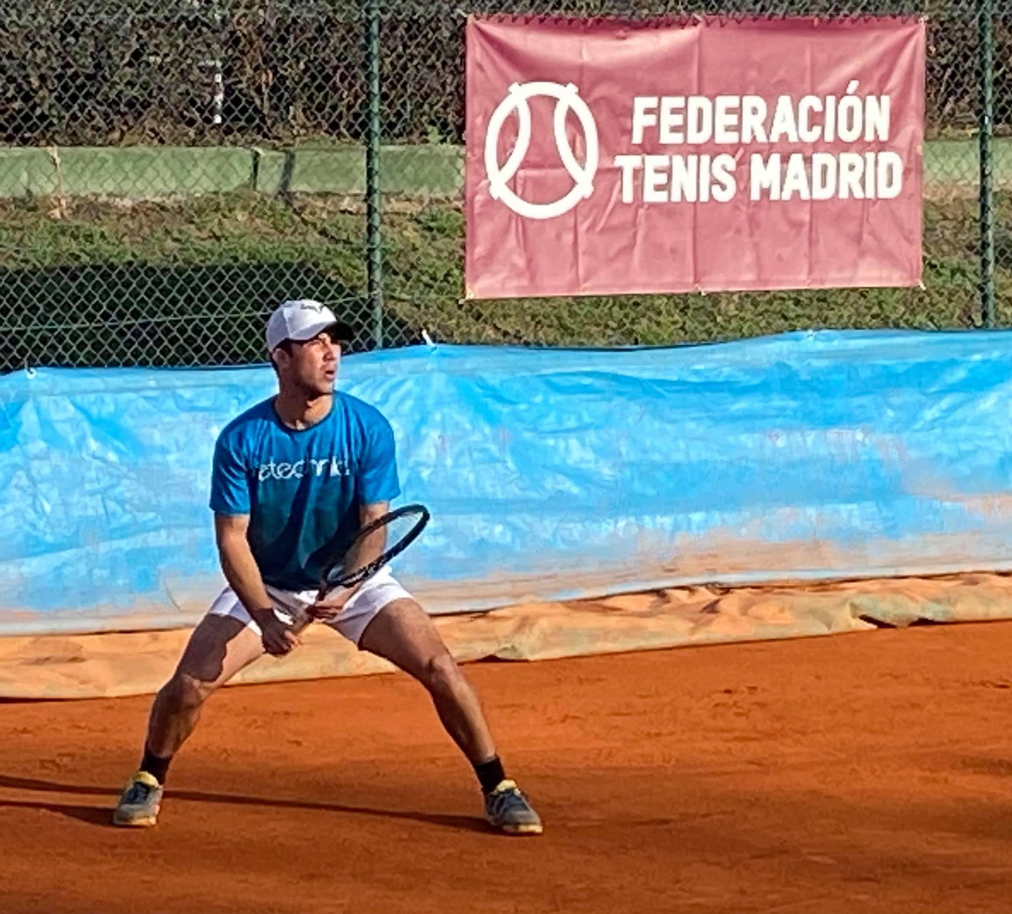 Campeonatos de Madrid absolutos de tenis. Foto: FTM