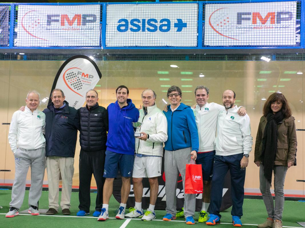 El equipo masculino que ascendió a 1ª categoría. Foto: Federación Madrileña