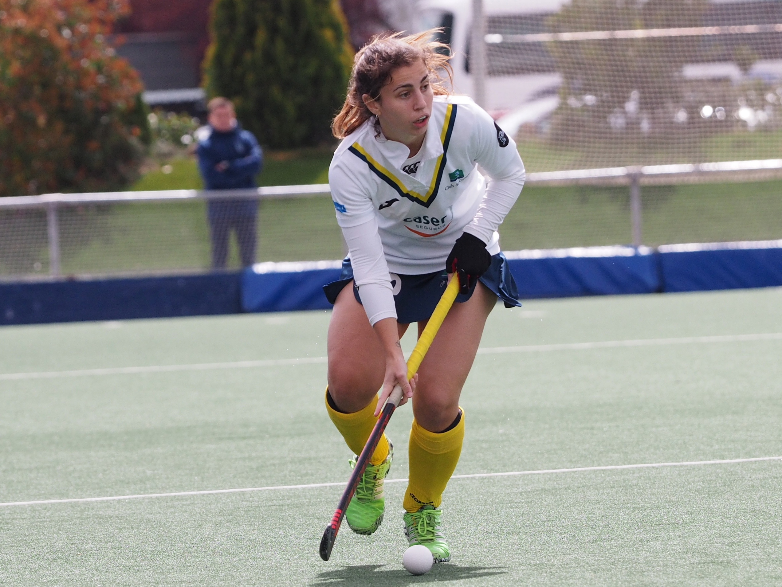 La jugadora Alicia Magaz vuelve al Club de Campo después de dos temporadas.