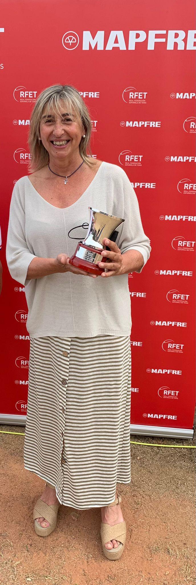 Ana Almansa, campeona de España +55.