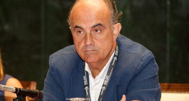 Antonio Zapatero, delegado de tenis del Club y director del hospital instalado en el Ifema para combatir el coronavirus.