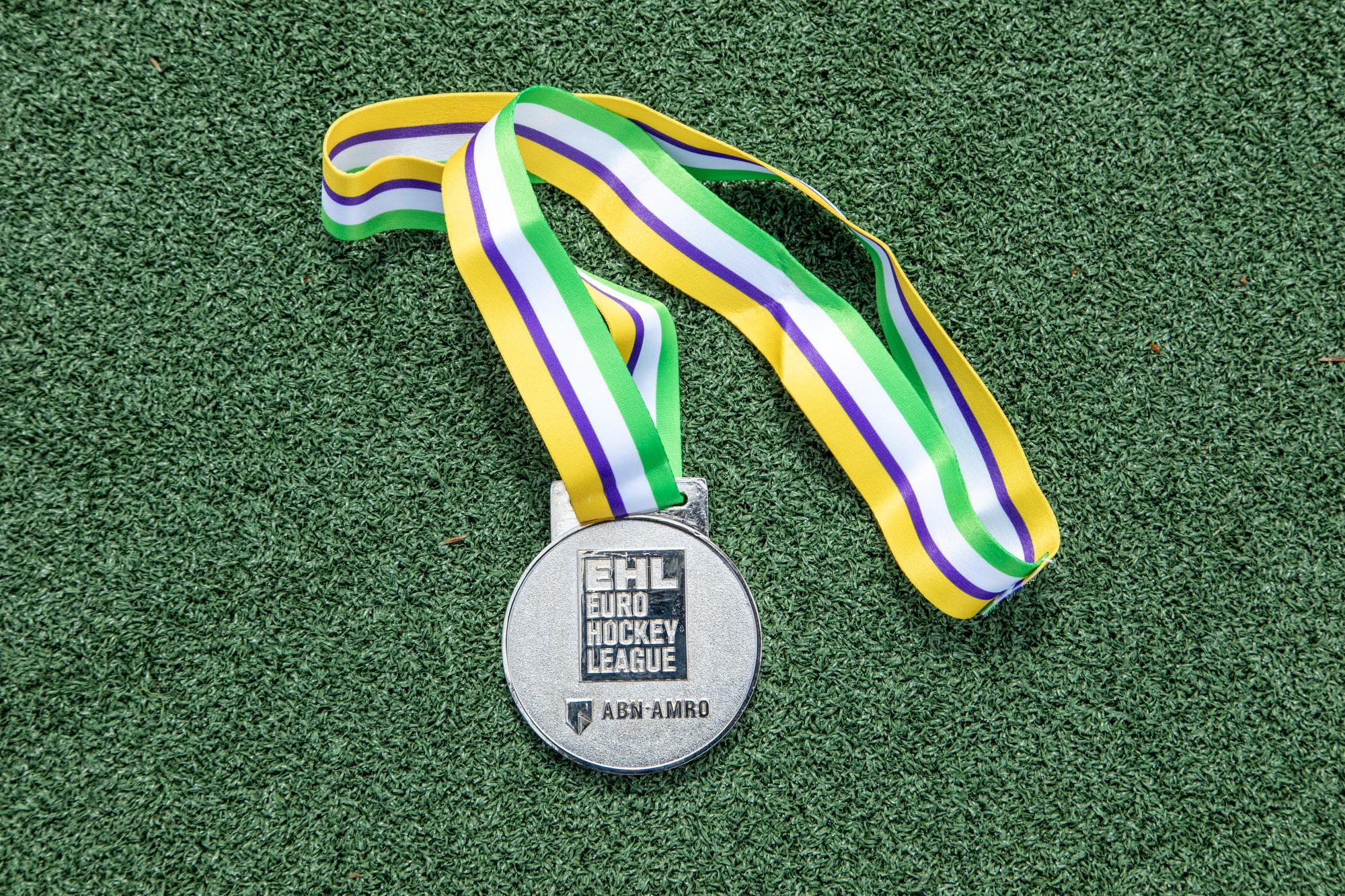 Medalla de plata de la Euro Hockey League 2021. Foto: Miguel Ros / CCVM