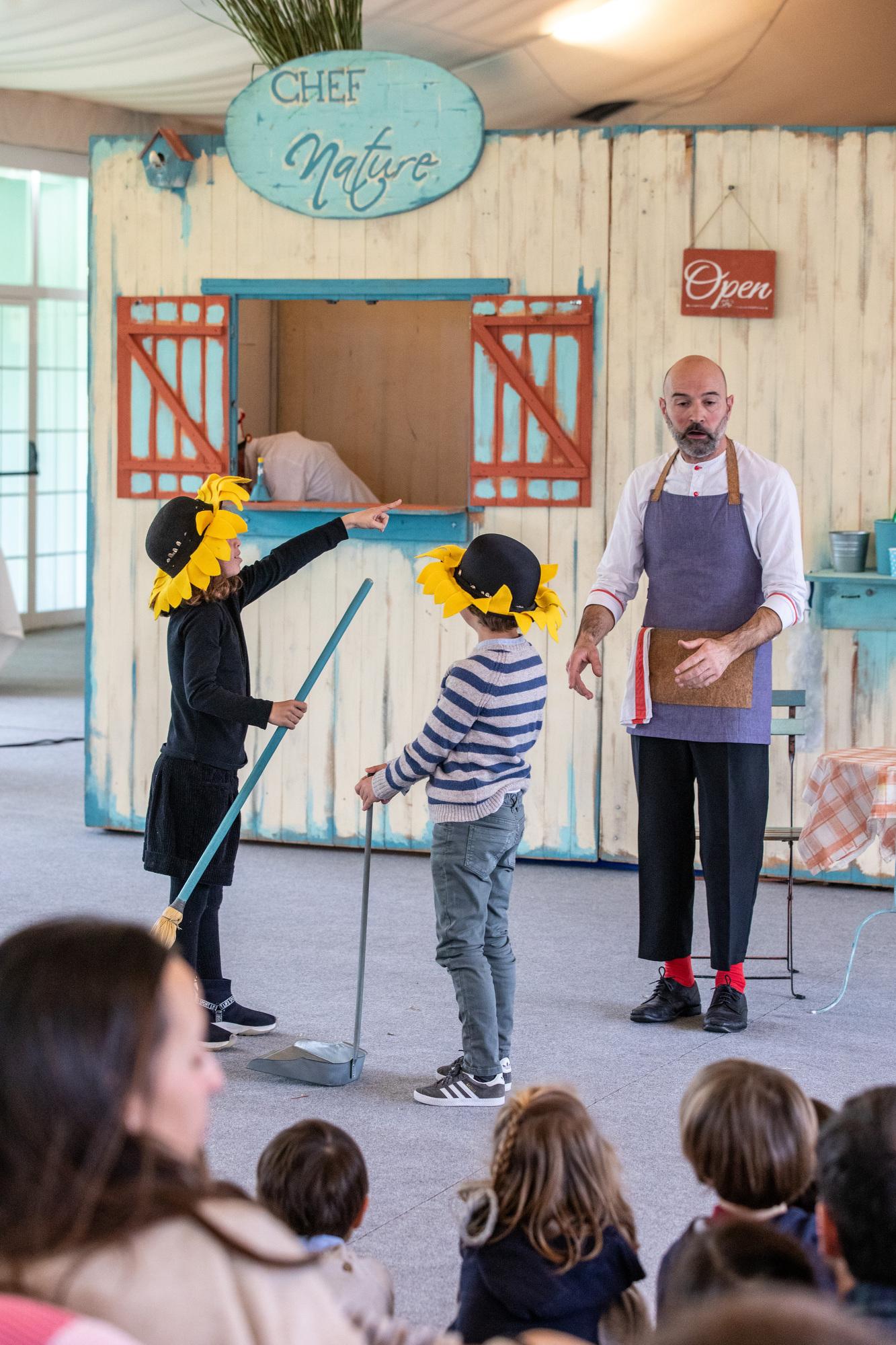 Galería de imágenes del espectáculo familiar 'Chef Nature'. Foto: Miguel Ros