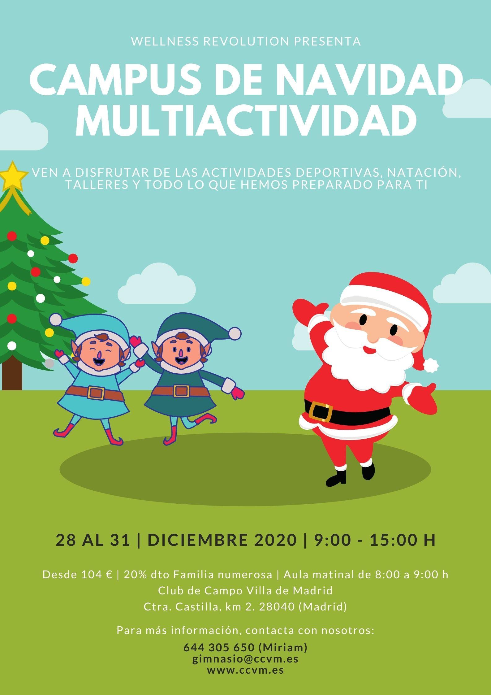 Campus de Navidad Multiactividad CCVM.