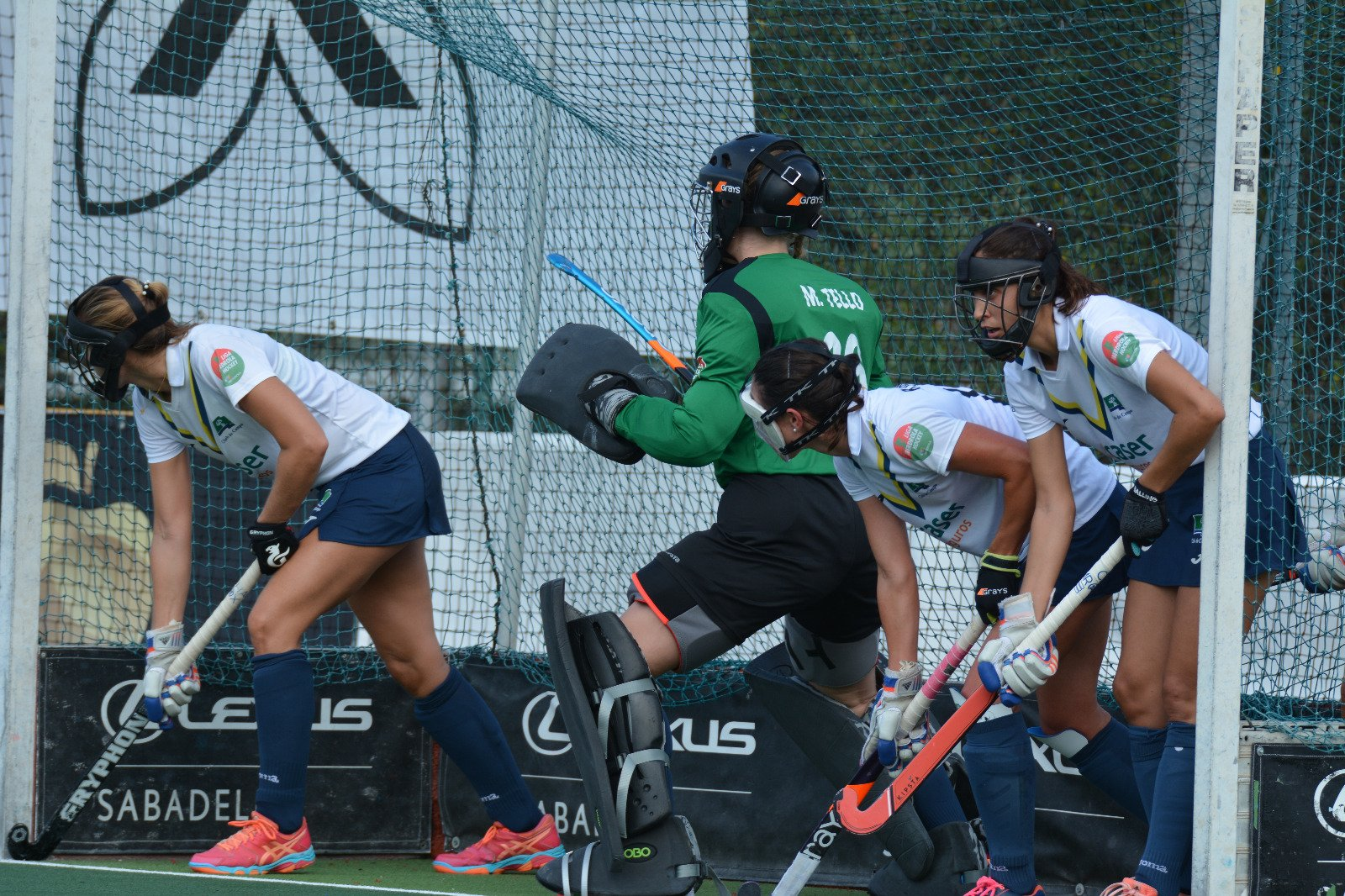 Club de Campo de hockey femenino.