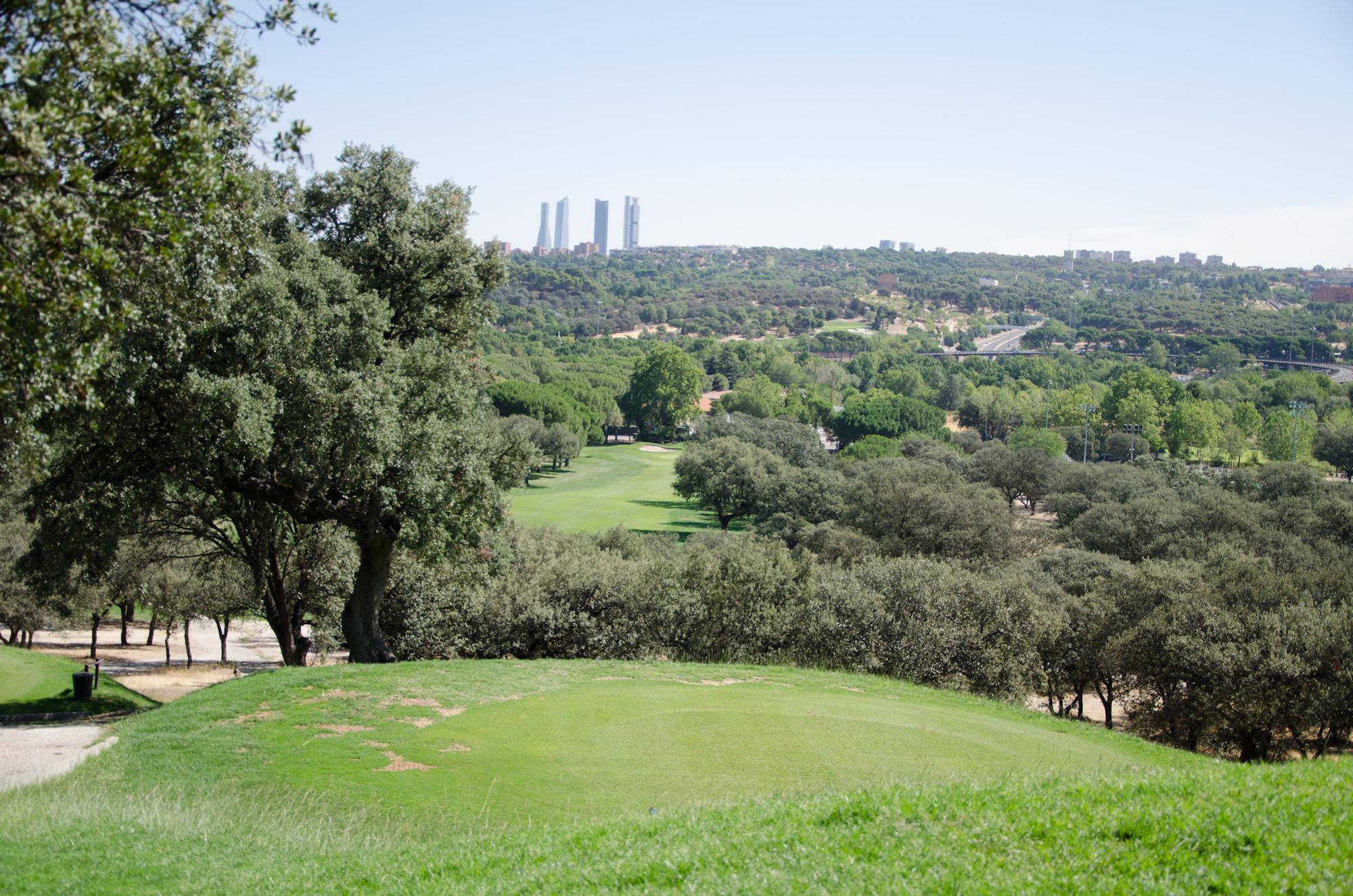 Campo de golf del Club de Campo.