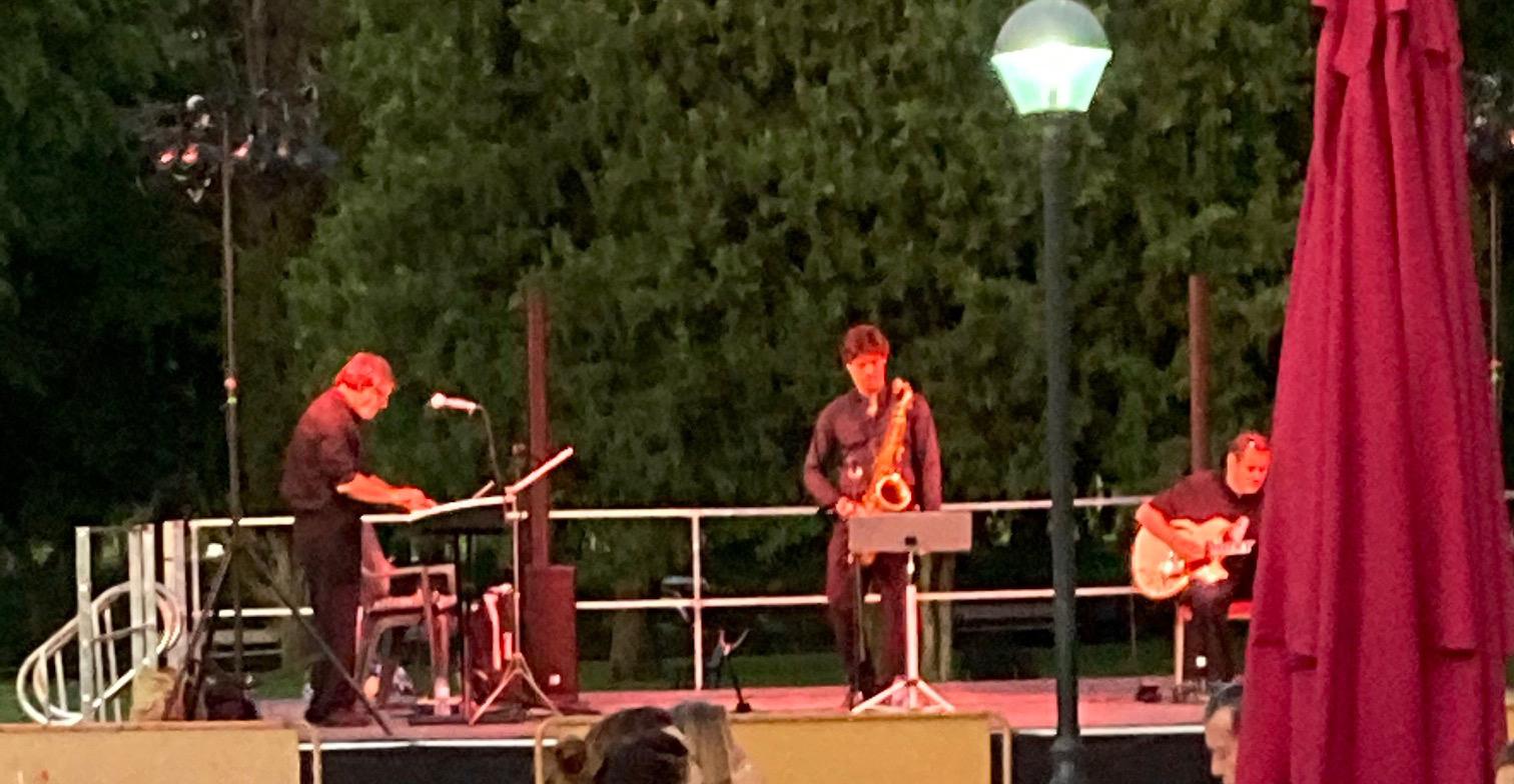 Concierto de jazz de Sacristán Trío.