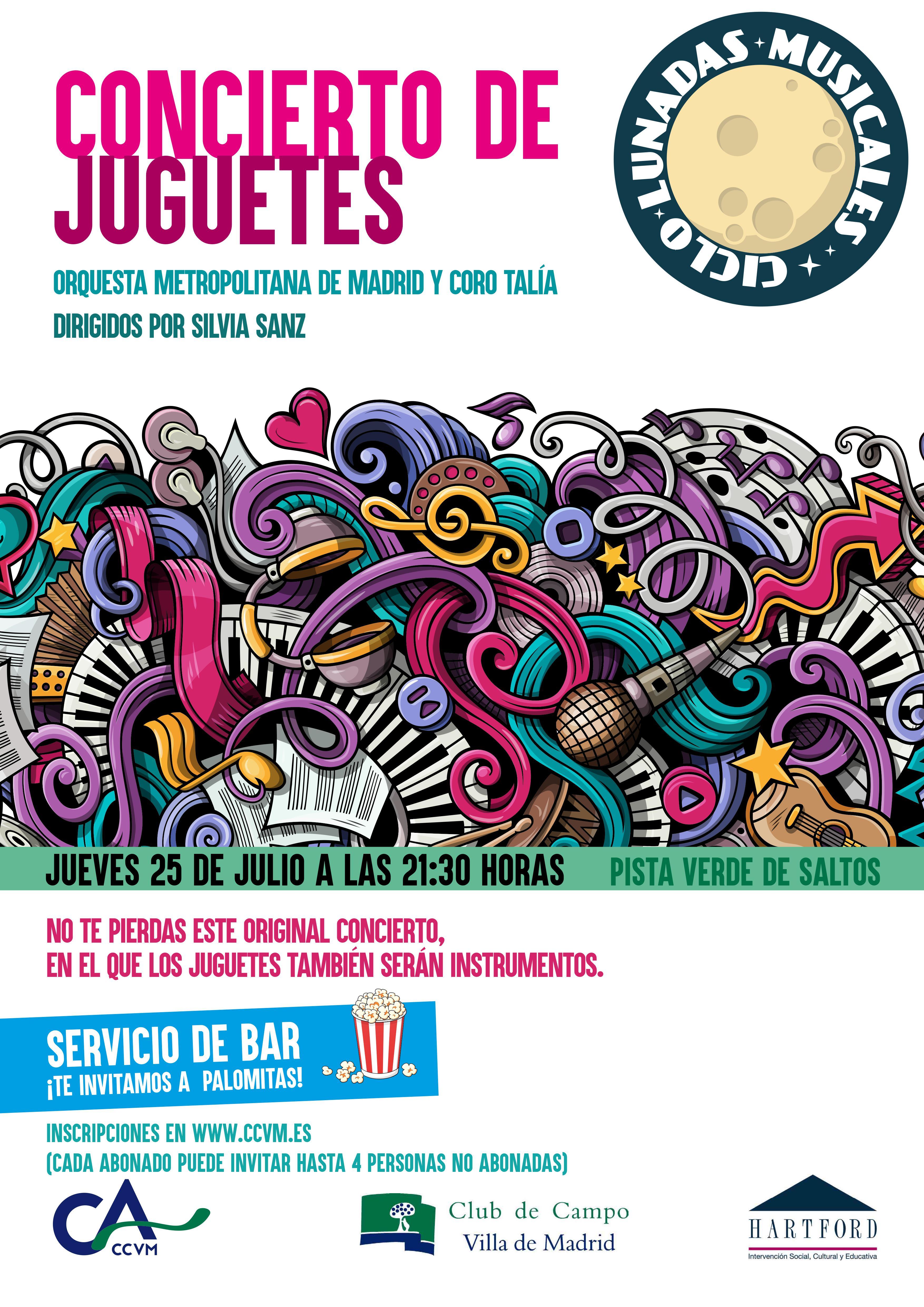 Cartel Concierto de Juguetes 2019