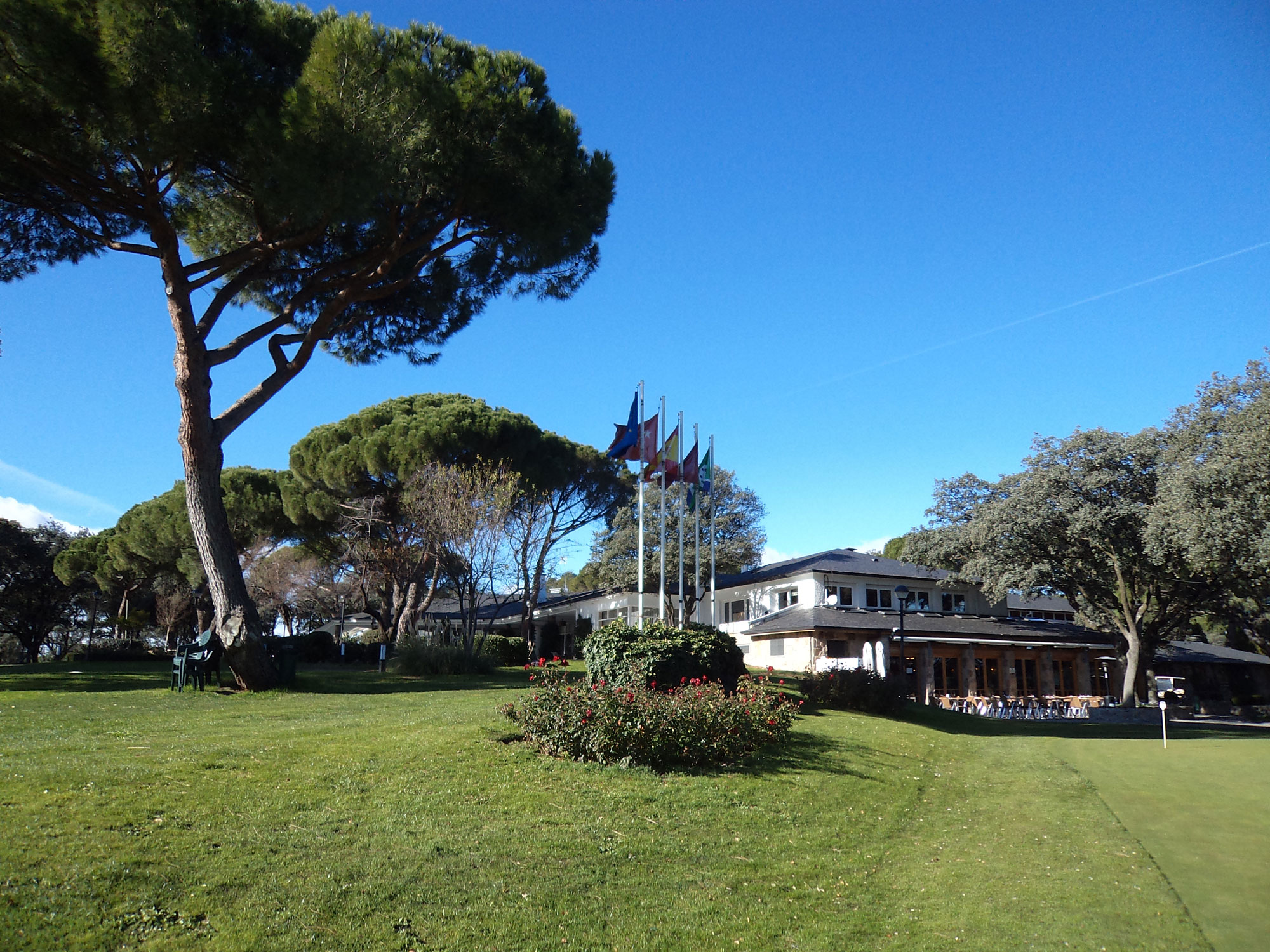 Chalet de Golf del Club de Campo Villa de Madrid.