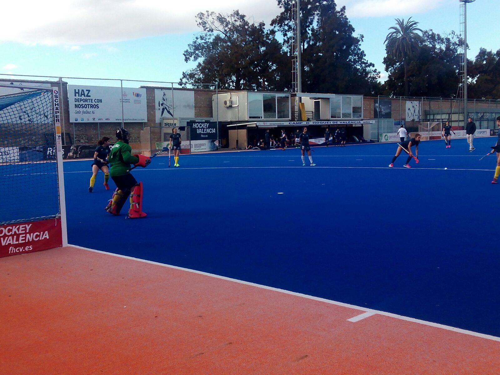 Entrenamiento del Club de Campo femenino en Valencia