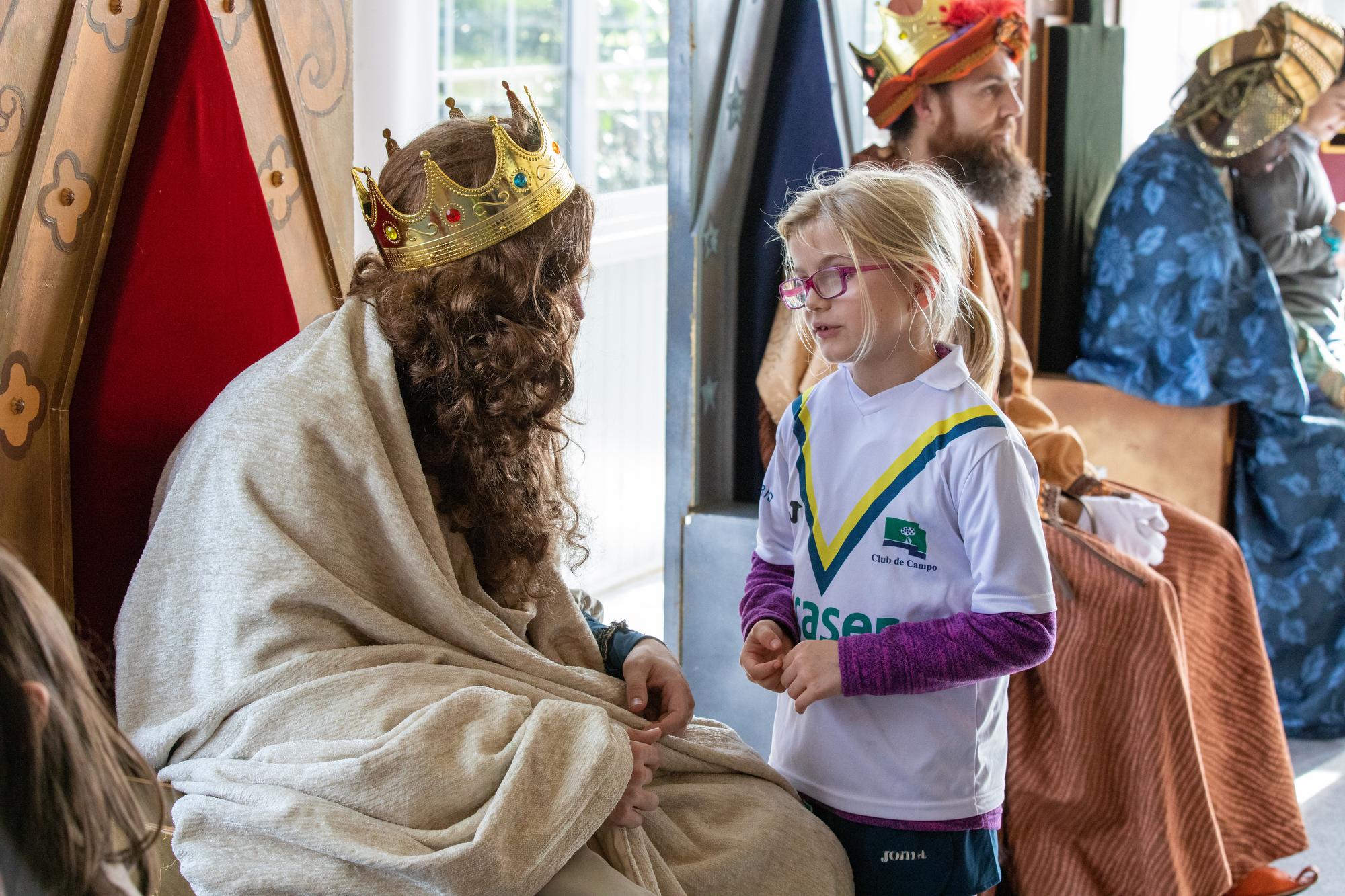 Fiesta familiar de Navidad 2019. Foto: Miguel Ros