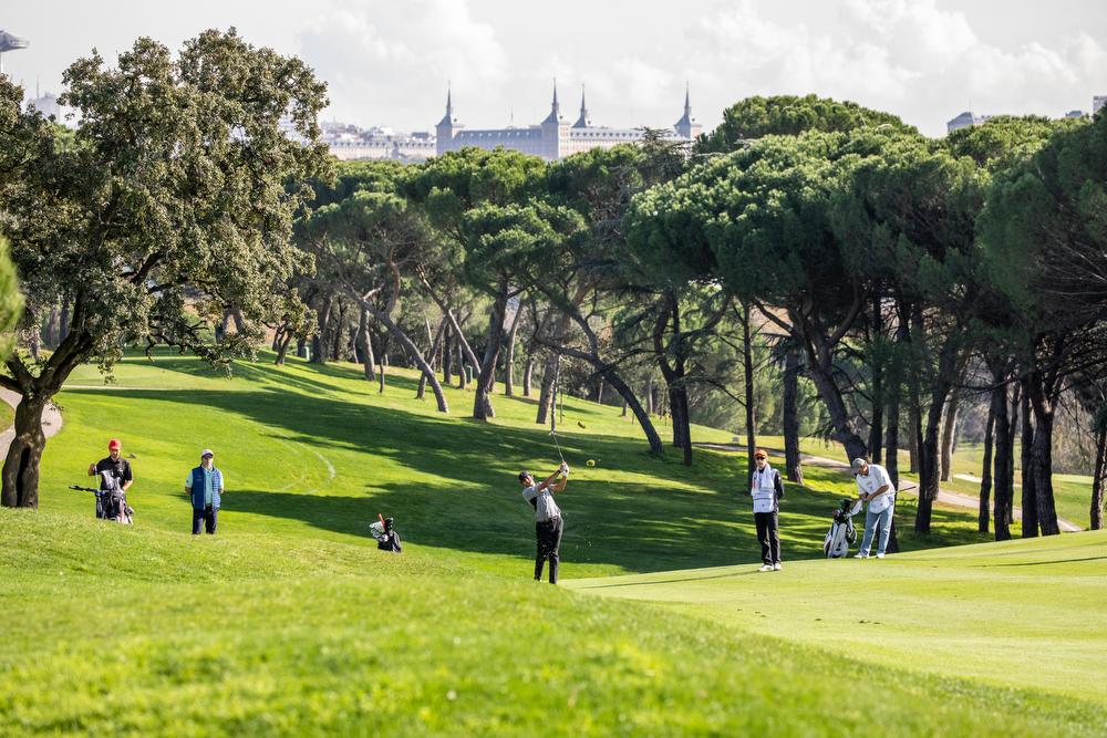 Golf en el Club de Campo Villa de Madrid. Foto: Miguel Ros