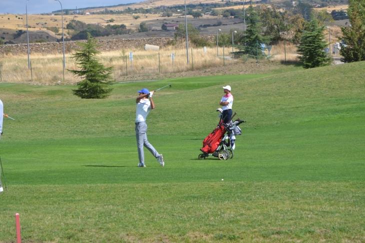 Circuito de Madrid de profesionales de golf, en La Faisanera. Foto: FGM