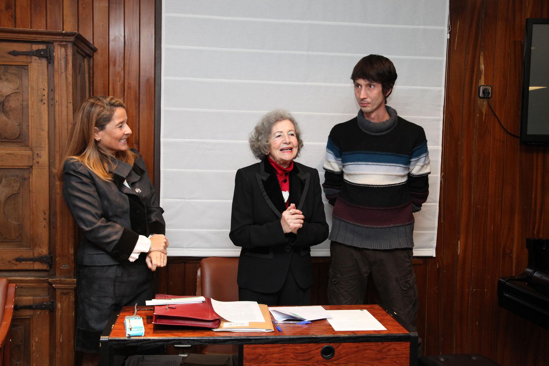 Entrega de premios de la pasada edición del Concurso-Exposición de Artes Plásticas.