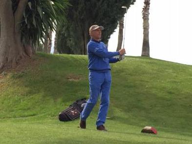 El golfista Juan Fernández-Ardavín. Foto: Rfegolf