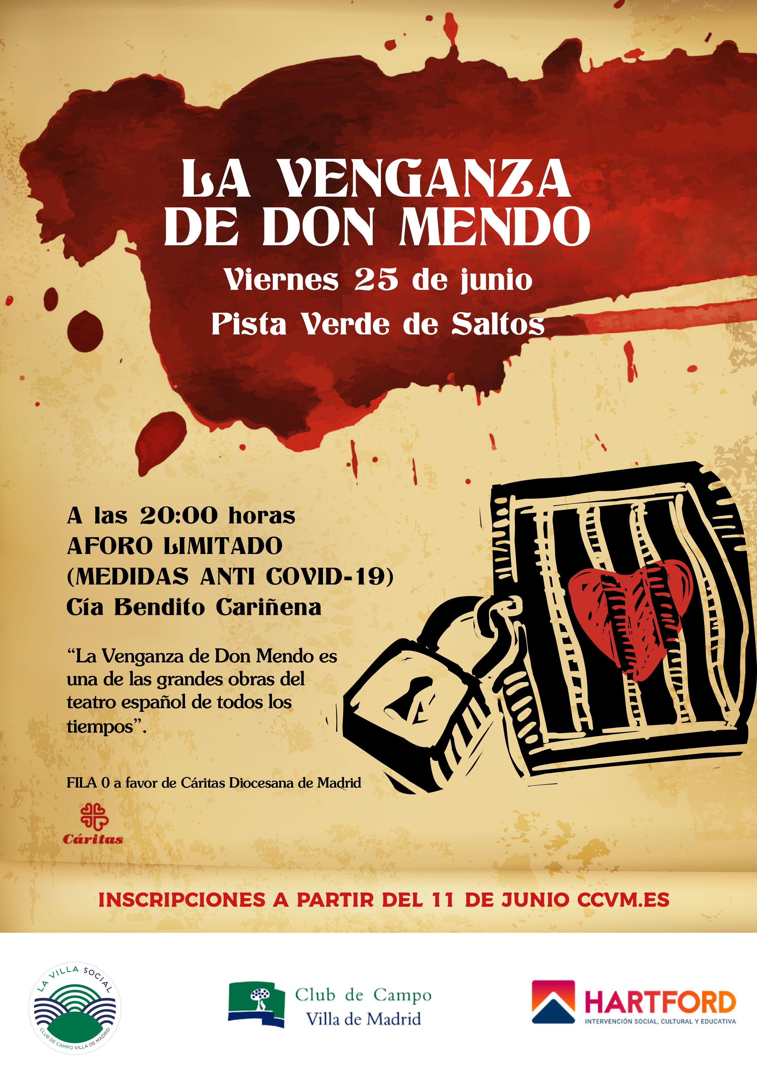 La venganza de Don Mendo.