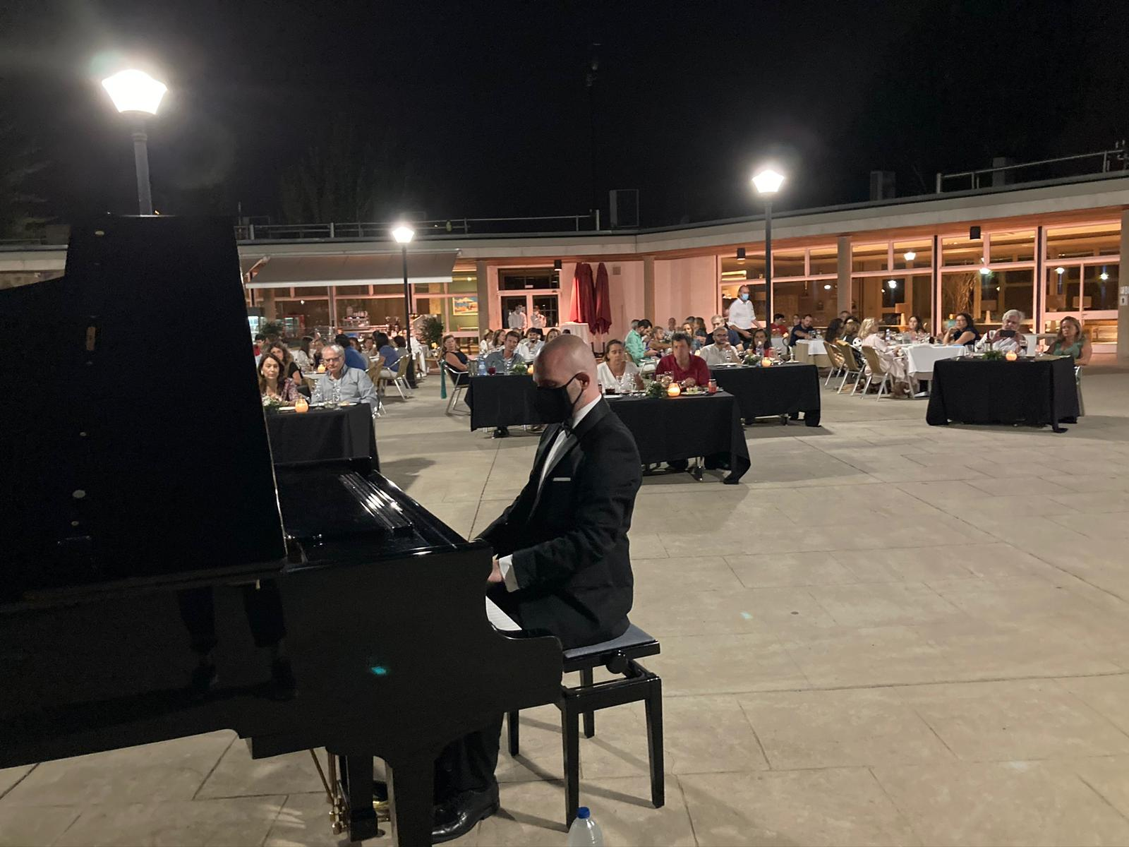 El pianista Juan Pablo Gamarro.
