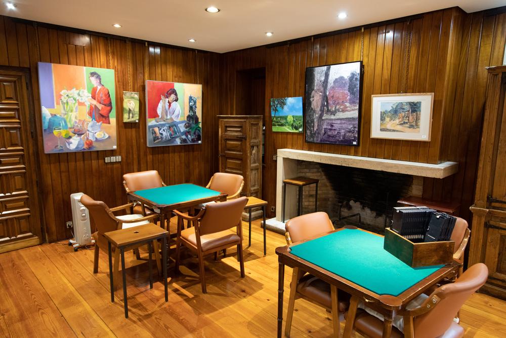 XXXI Concurso-Exposición de Artes Plásticas, en el Chalet de Golf. Foto: Miguel Ros