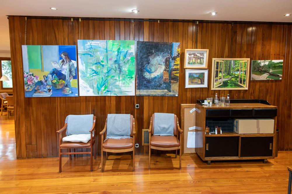 Cuadros del XXXI Concurso-Exposición de Artes Plásticas. Foto: Miguel Ros