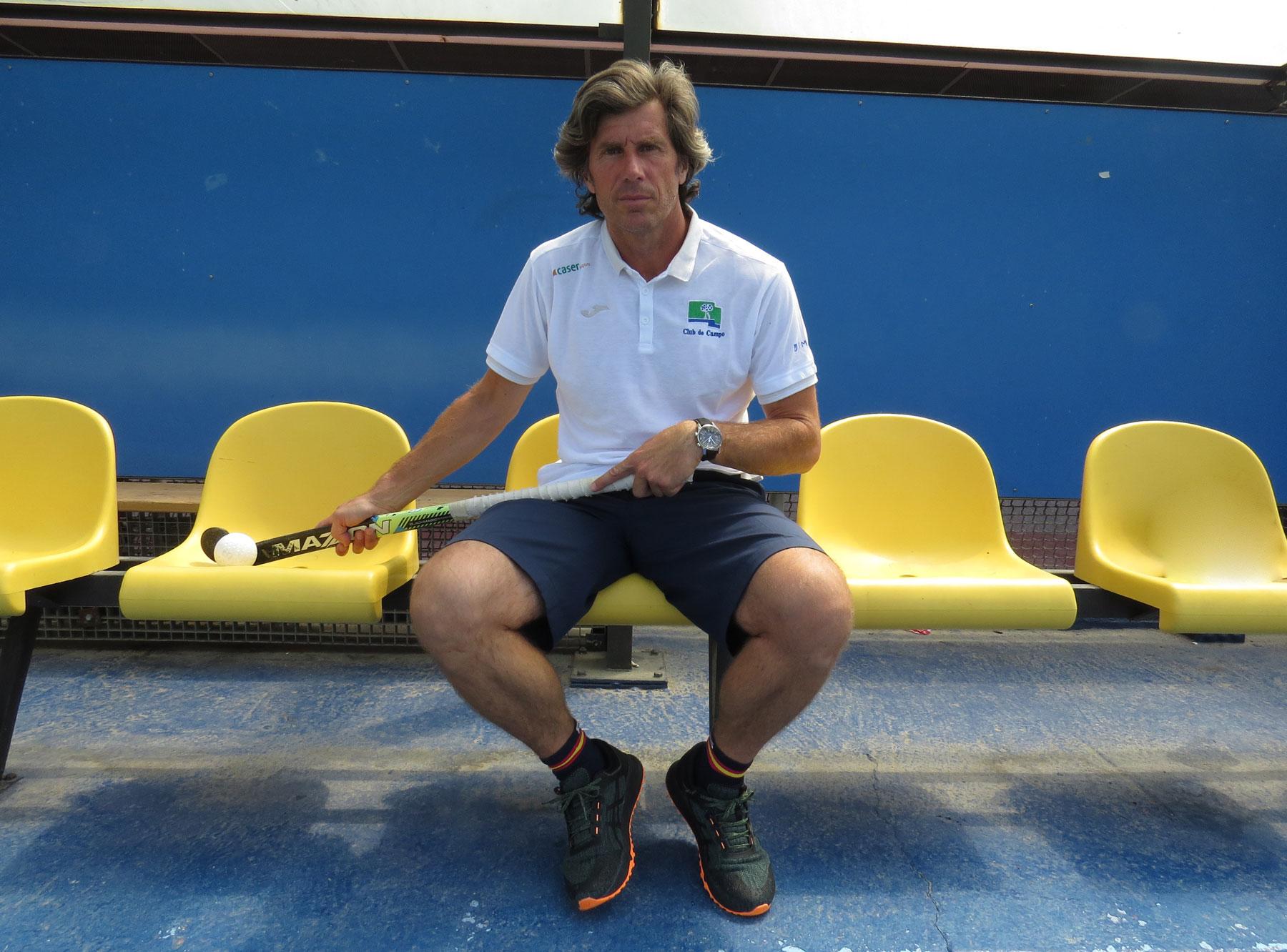 Pablo Usoz, nuevo entrenador del Club de Campo Villa de Madrid. Foto: EGD