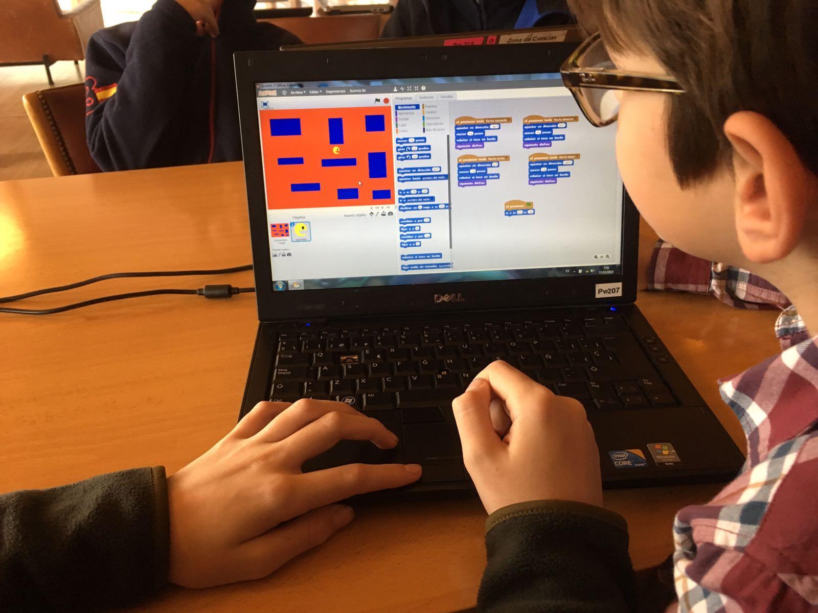 Campamentos de educación creativa Arganbot