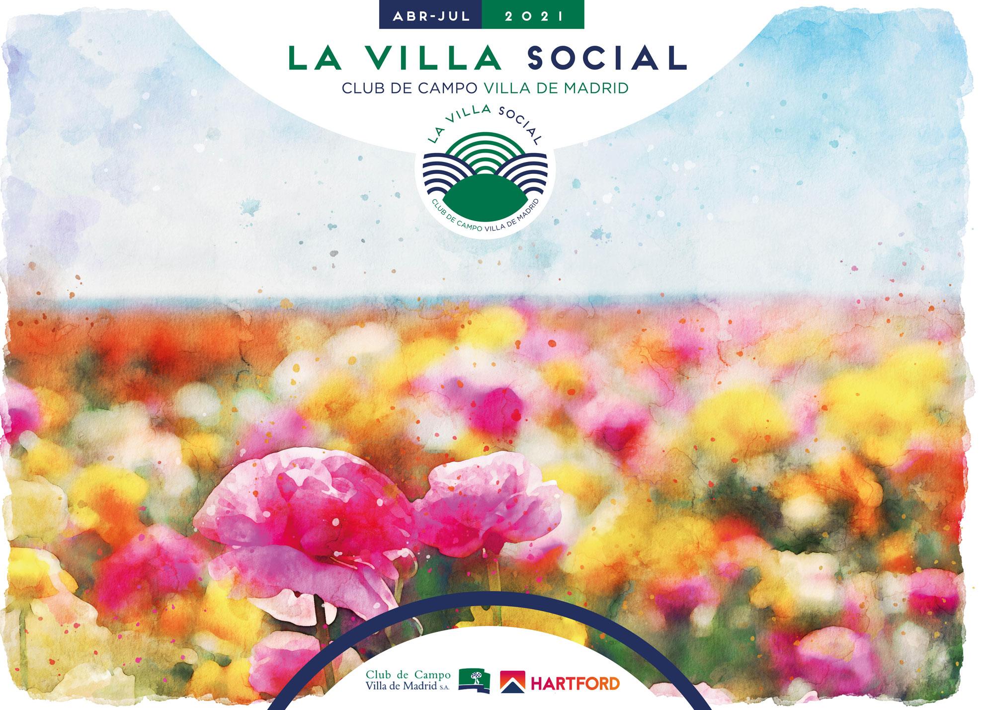 Programación La Villa Social. Abril-Julio 2021