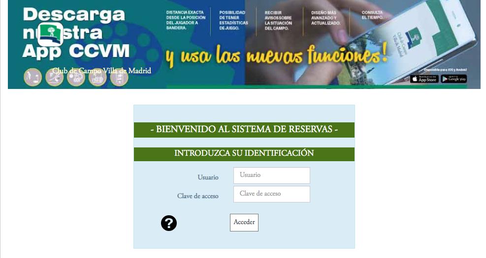 Reservas CCVM