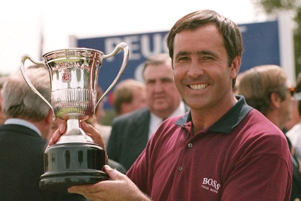 Seve Ballesteros, campeón en el Club del Open de España de 1995.