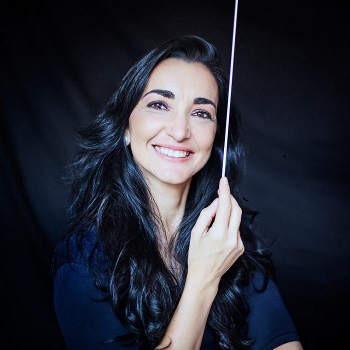 Silvia Sanz Torre, directora de la Orquesta Metropolitana de Madrid