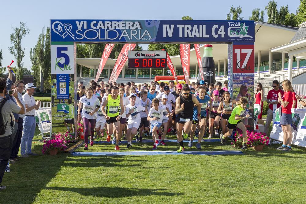 Salida de la VI Carrera Solidaria del Club de Campo. Foto: Miguel Ros