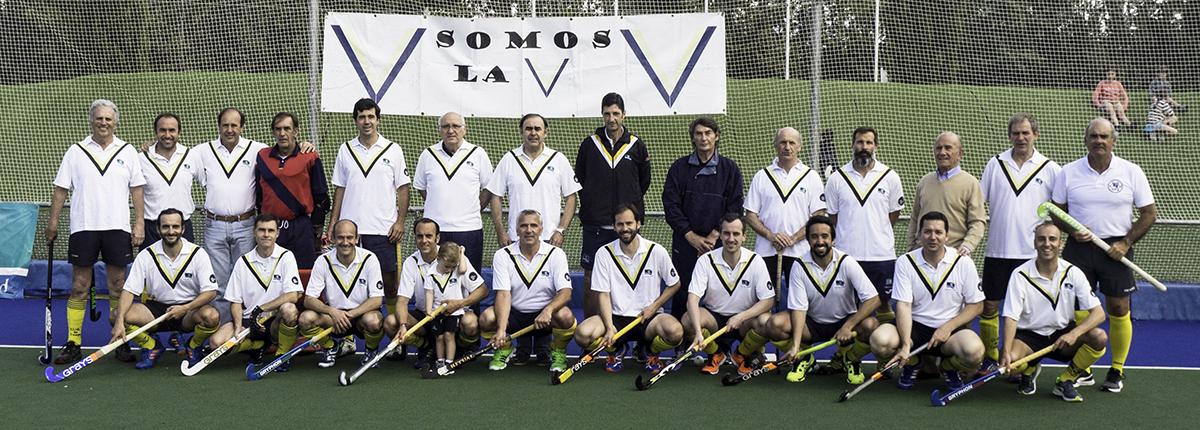 Jugadores del Club de Campo en el Torneo VI Naciones