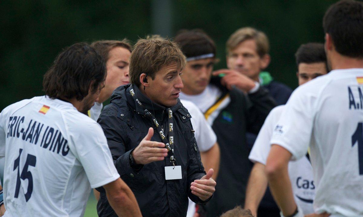 Xavi Arnau, director de la Escuela de Hockey del Club.