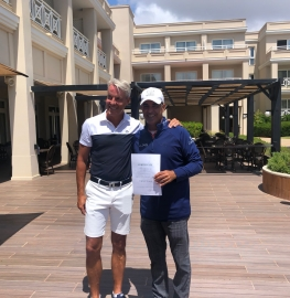 Carlos Balmaseda gana en el Lisboa Senior Open 2021.