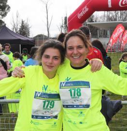 Hija y madre en la Carrera Solidaria 2017