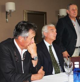 Alejandro Jordá, Luis Álvarez Cervera y Jaime Baselga