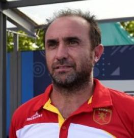 Edu Aguilar, nuevo seleccionador español de hockey sala.