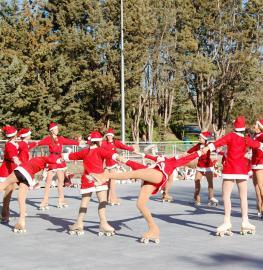 Festival de Navidad de la Escuela de Patinaje
