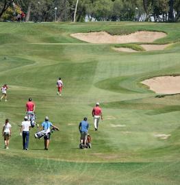 Golf en el Club de Campo. Foto: Miguel Ros