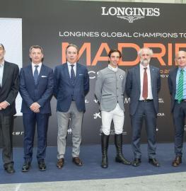Javier Odriozola, Álvaro Arrieta, Javier Revuelta, Eduardo Álvarez Aznar, Luis Cueto y Joaquín Ballesteros. Foto: Miguel Ros