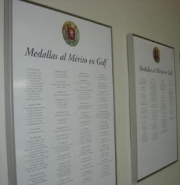 Medallas al Mérito de Golf. Foto: RFEG