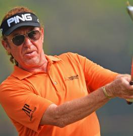 El golfista malagueño Miguel Ángel Jiménez. Foto: RFEG