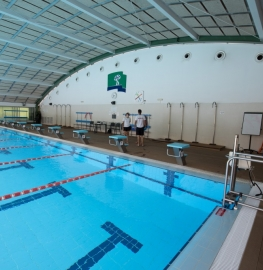 Piscina olímpica del Club de Campo Villa de Madrid.