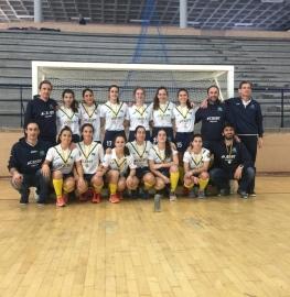 Equipo subcampeón del Campeonato de España hockey sala femenino 2020.