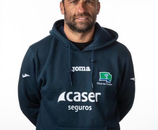 Ángel Monterrubio, segundo entrenador y delegado