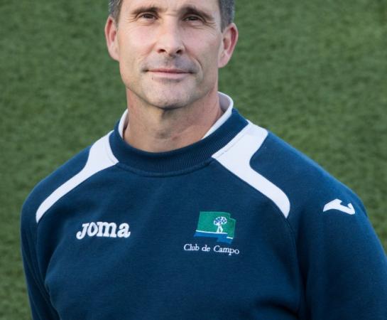 Alec del Carré, preparador físico y delegado