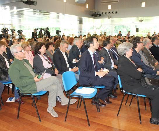 Aspecto del auditorio de los Jardines de Cecilio Rodríguez