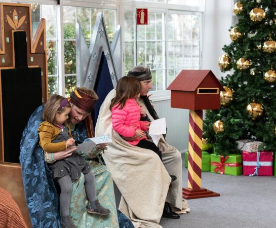 Fiesta de Navidad. Foto: Miguel Ros
