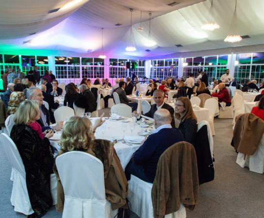 Cena-espectáculo con góspel. Foto: Miguel Ros